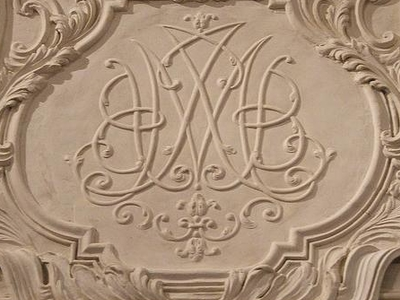 Monogram Of Maria Giovanna Battista Of Savoy