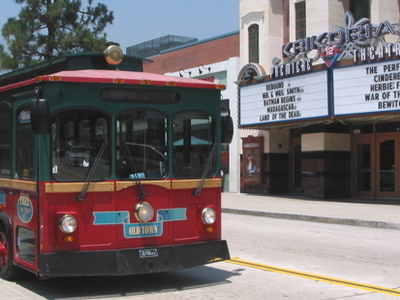 Monrovia Trolley Bus