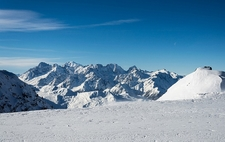 Mont Blanc From Col Des Gentian
