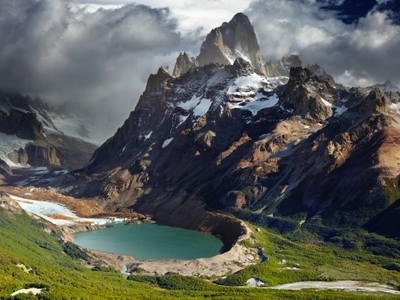 Monte Fitz Roy - Chile-Argentina Border