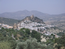 Montefrio Vista With Surrounding Landscape - Andalusia