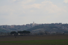 Monterotondo Seen From The Tiber Valley