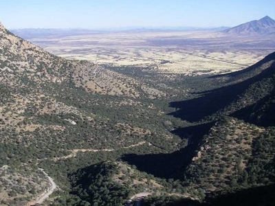 Montezuma Pass At Coronado National Memorial