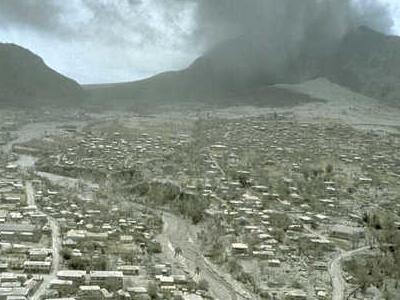 Montserrat Eruption