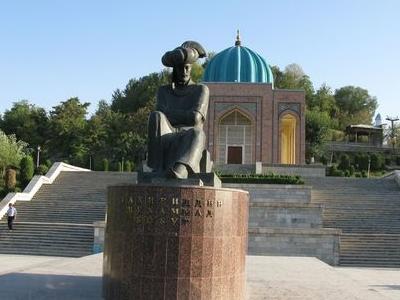 Monument To  Babur  Andijan  Sculptor  R  Suleymanov  Bronze  1