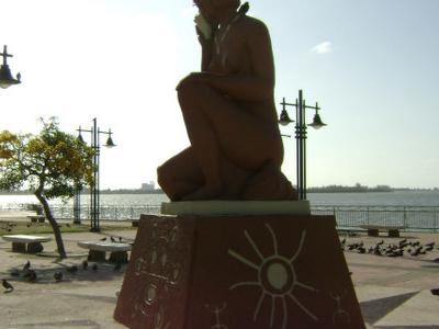 Monumento A  Cultura  Taina  Cata