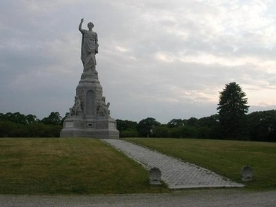 Monument And The Surrounding Park