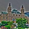 Monument In Monte Carlo - Monaco