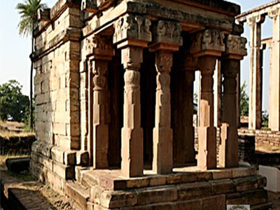 Monument In Sanchi