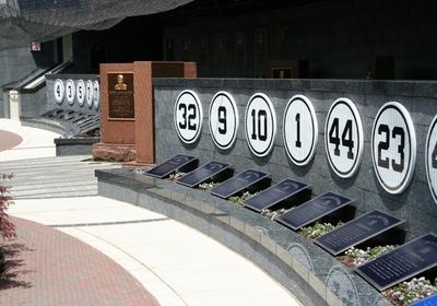 Monument Park At The New Yankee Stadium