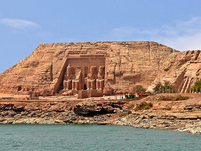 Monuments At Abu Simbel
