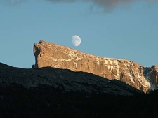 Moon Over East Temple
