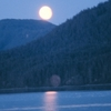 Moonrise On Hobart Bay
