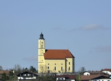 Moosdorf Parish Church, Upper Austria, Austria