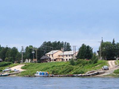 Waterfront Of Moosonee