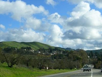 Moraga Way View Toward Moraga Road