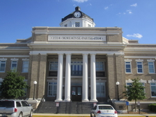 The Morehouse Parish Courthouse