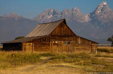 Mormon Row - Grand Tetons - Wyoming - USA