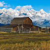 Mormon Row Homestead - Grand Tetons - Wyoming - USA