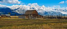 Mormon Row Homestead - Grand Tetons - Wyoming - USA