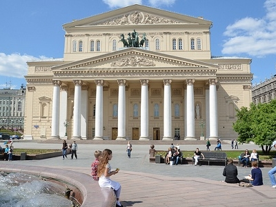 Moscow Bolshoi Theater - Day View