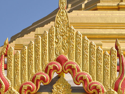 Motif On Pagoda