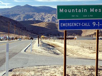 Mountain  Mesa  California