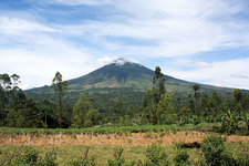 Mount Cikuray From Cisurupan