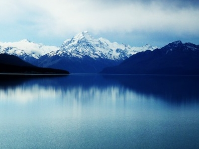 Mount Cook From Lake Tekapo