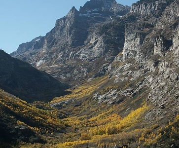 Mount Gilbert In The Ruby Mountains