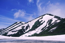 Mount Hiuchi From Garden Of Tengu