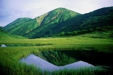 Mount Hiuchi Seen From Garden Of Tengu
