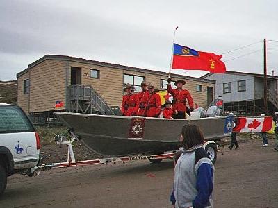 Mounties Iqaluit Canada
