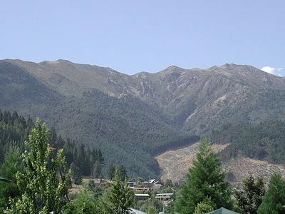 Mount Isobel Behind Hanmer Springs