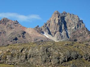 Climbing Mount Kenya on Sirimon - Chogoria Route