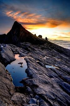Mount Kinabalu Near Low's Peak
