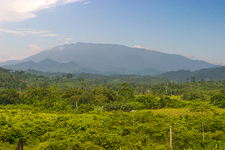 Mount Mantalingajan As Seen From Ransang