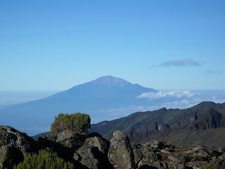 Mount Meru From Shira Camp 2 - Kilimanjaro Route