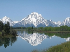Mount Moran Reflected - Grand Tetons - Wyoming - USA