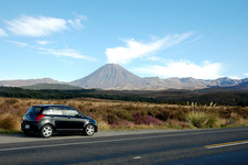 Mount Ngauruhoe From The Roadway