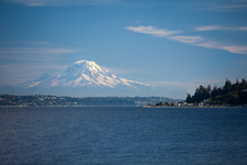 Mount Rainier Over Bainbridge Island