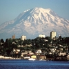 Mount Rainier, With Tacoma