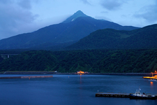 Mount Rishiri View From Oshidomari Port