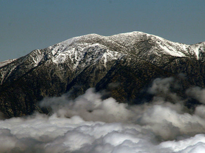 Mount San Antonio Above The Clouds