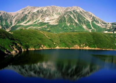 Mount Tate And Mikuri Pond