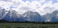 Mount Woodring At Grand Tetons - Wyoming - USA