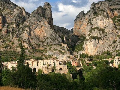 Moustiers  Ste  Marie  Provence  France