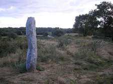 Moustoir Menhir - Brittany - France