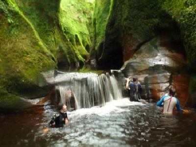 Moving Up To Finnich Glen