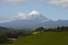 Mt. Egmont & Surrounding Landscape - North Island NZ
